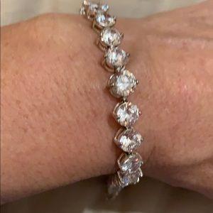 Jewelry - 925 sterling and CZ tennis bracelet